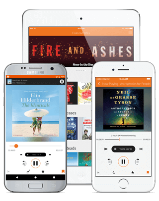 Audiobooks.com app interface